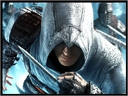 Assassins Creed, m�czyzna, posta�, sztylet