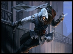 Skok, Assassins Creed, Kaptur